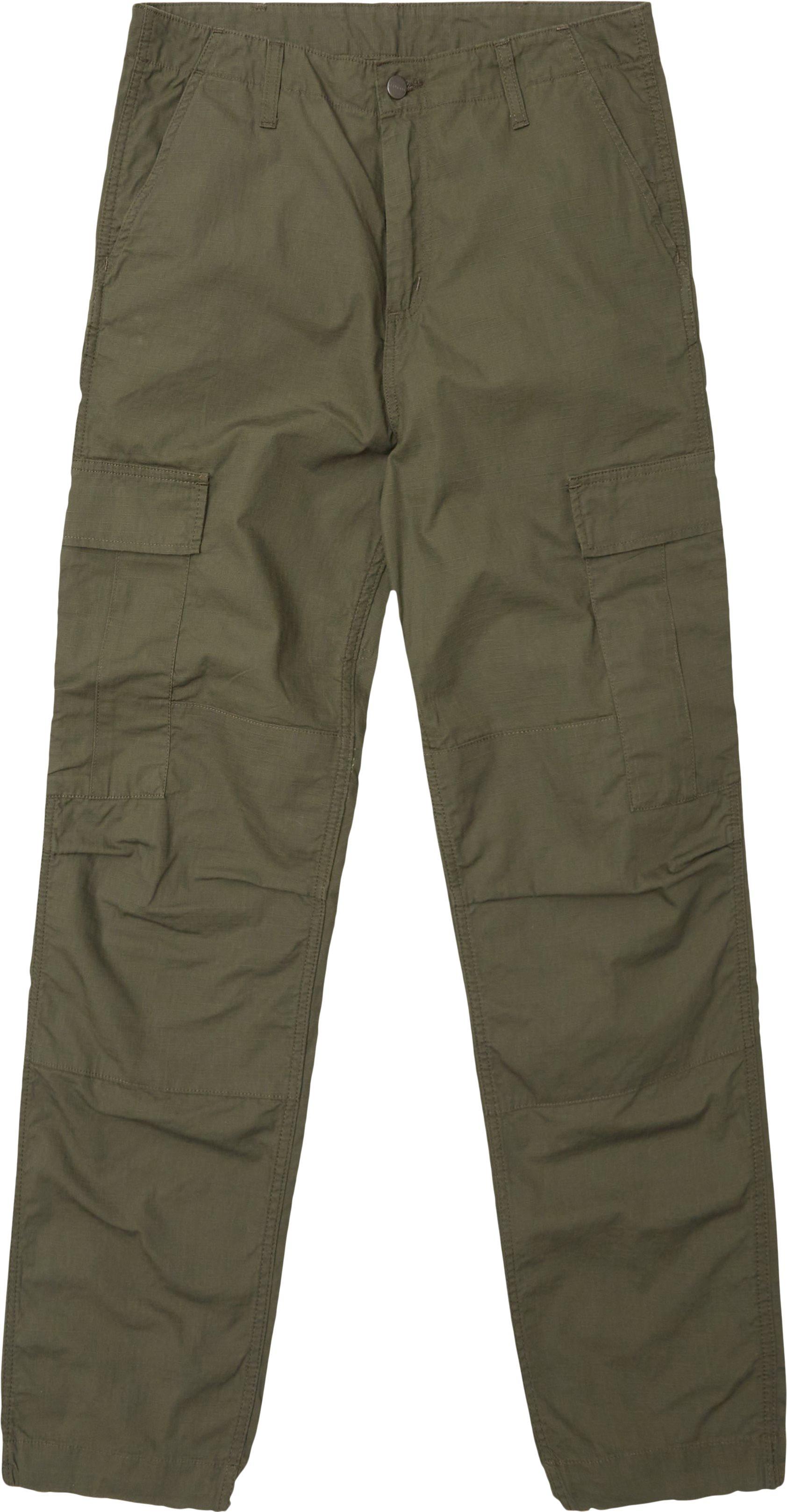Trousers - Regular - Green